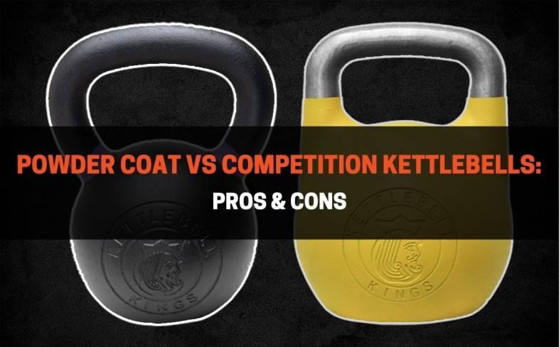 powder coat versus competition kettlebells