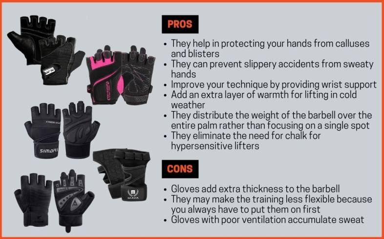 pros and cons of wearing lifting gloves for small hands