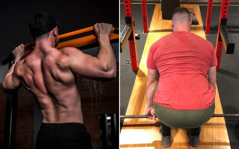 should you do pull ups on the same day as deadlifts