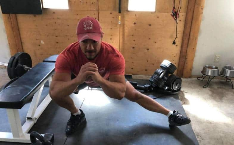 cossack squat is a single leg variation that requires a high degree of coordination and balance