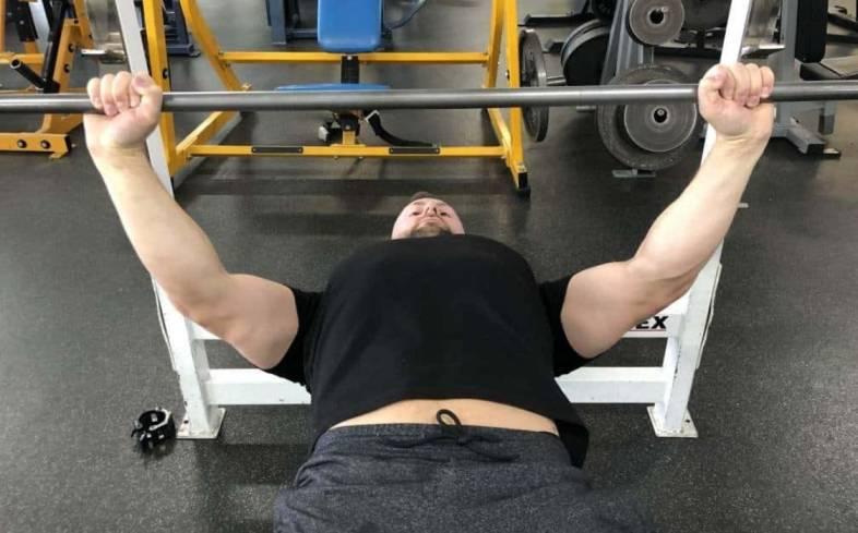 Wide Grip Bench Press