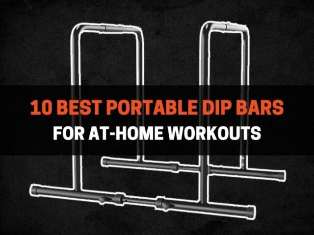 10 Best Portable Dip Bars For At-Home Workouts (2021)