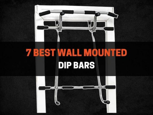 7 Best Wall Mounted Dip Bars in 2021