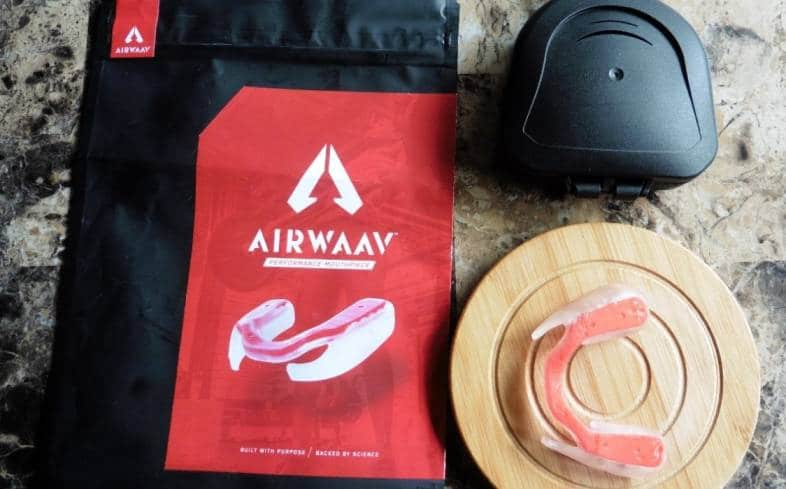 product overview of AIRWAAV mouthpiece
