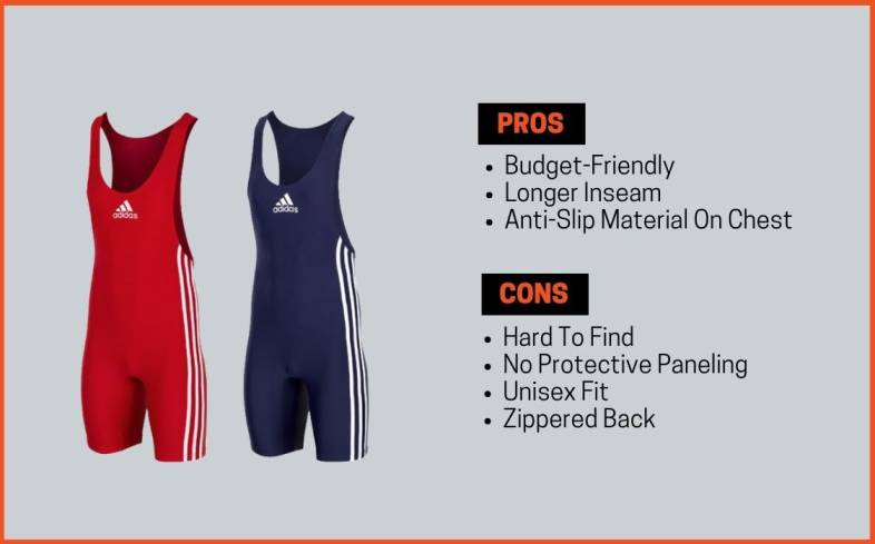 adidas singlet pros and cons