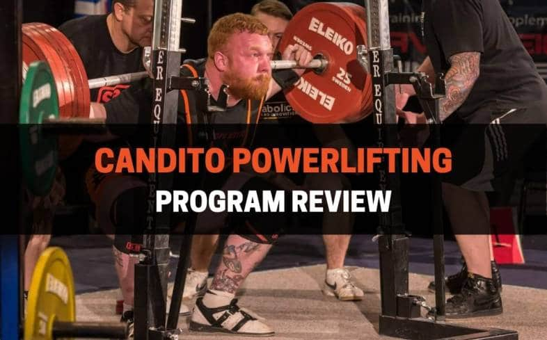 candito powerlifting program review