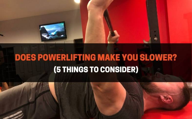 powerlifting-style training can improve your ability to run faster or move quickly to a certain extent