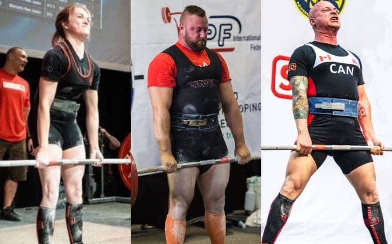 how does deadlift strength vary among 19 to 39 year olds