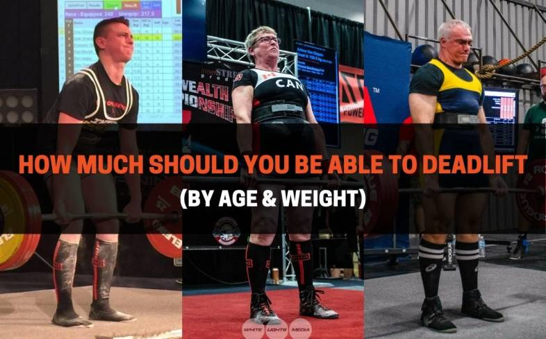 how strong lifters should expect to be at their age, and what the average bench press is for 19 to 39-year-olds