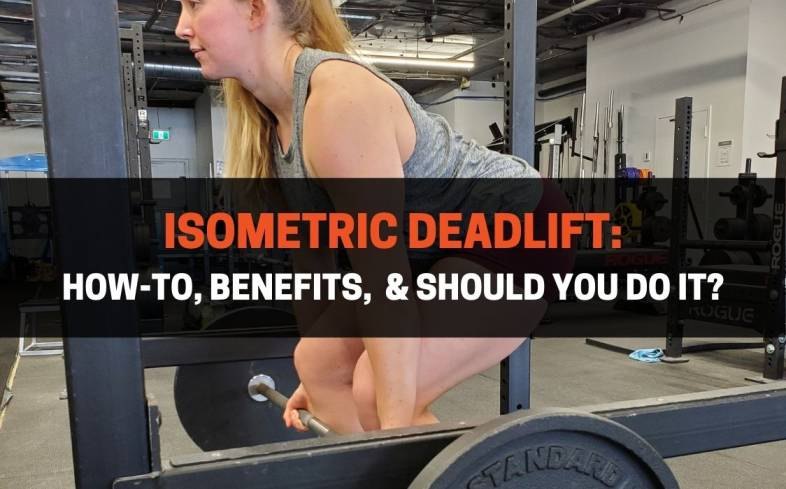 the isometric deadlift is a variation that requires the use of a power rack