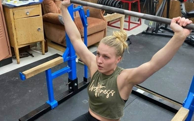 the z press is an overhead press variation that allows you to perform the overhead press with a very little height requirement