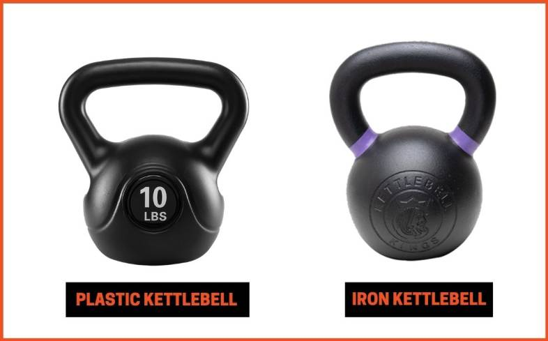 plastic versus iron kettlebell which style of kettlebell is best for you