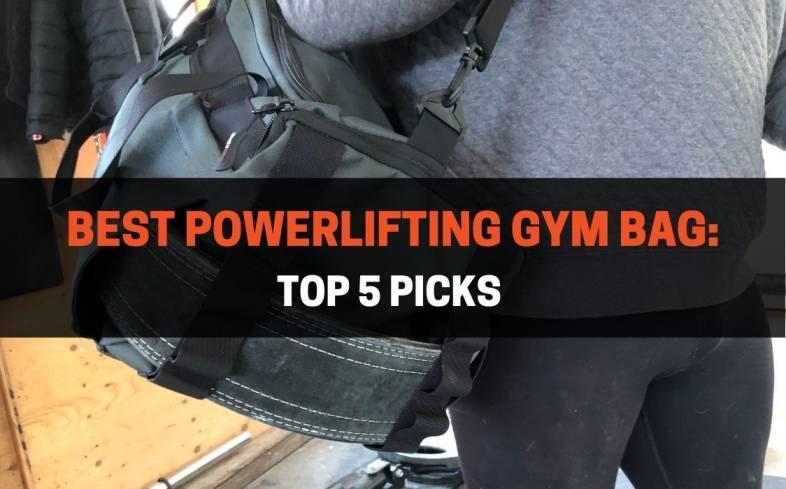 top 5 picks best powerlifting gym bag