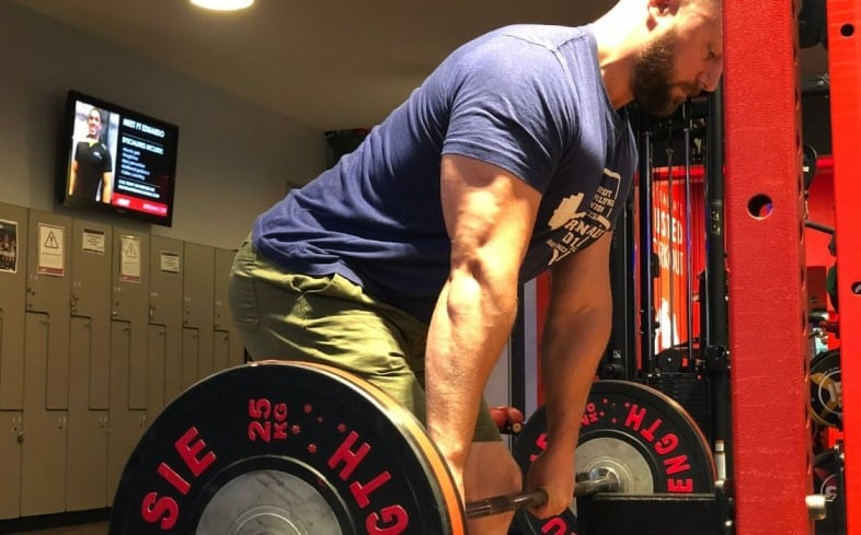 deadlifts done in the rack are often called rack pulls and are included into programs when a lifter has a weakness in the top half of the lift