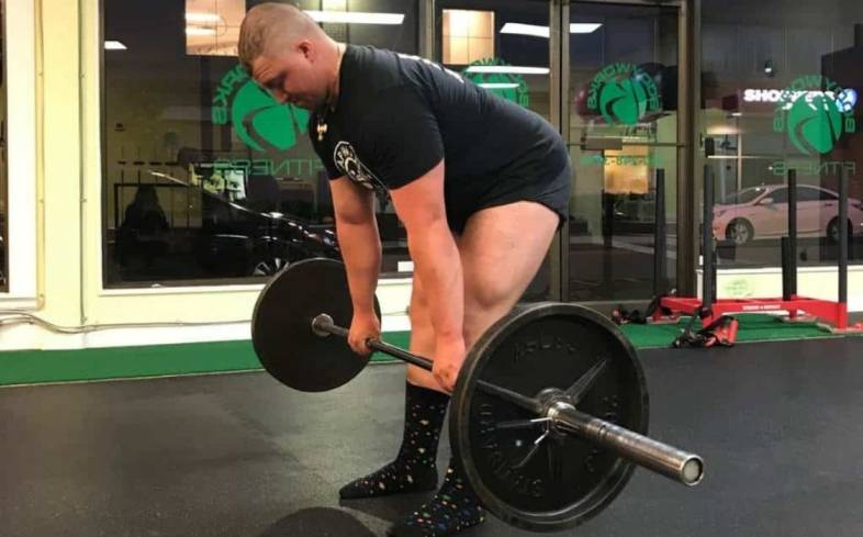 stiff leg deadlift is a great variation for those who need more work on their back, glutes and hamstrings
