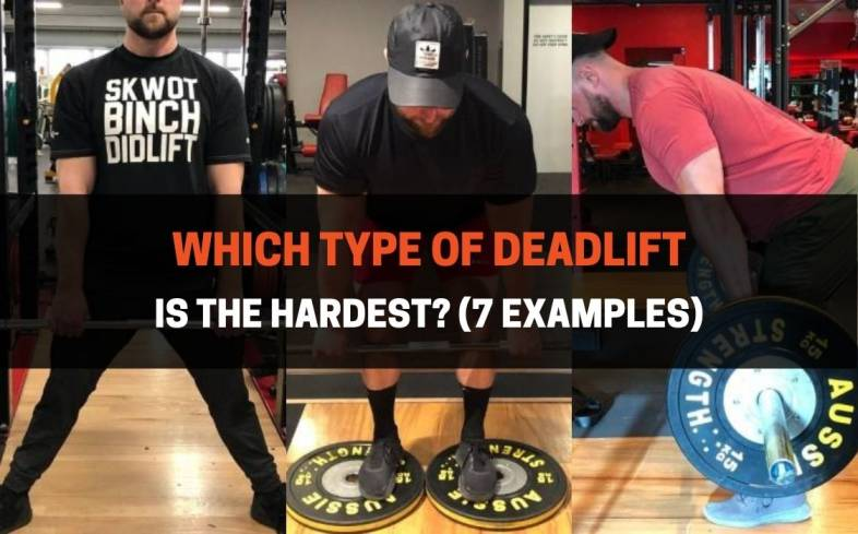 the deadlift comes in several variations