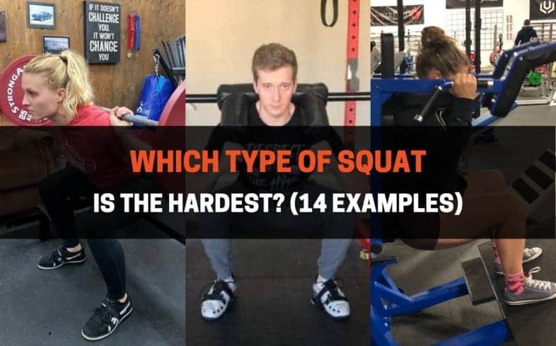 which type of squat is the hardest