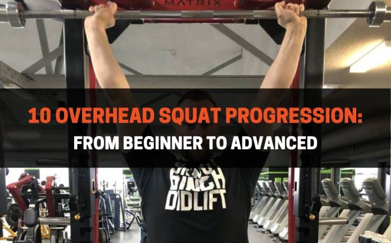 10 overhead squat progression from beginner to advanced