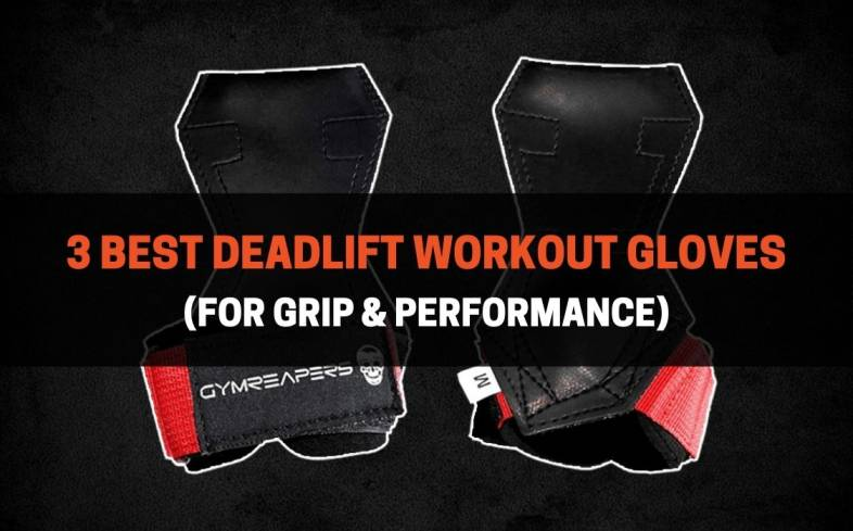 3 best deadlift workout gloves for grip and performance