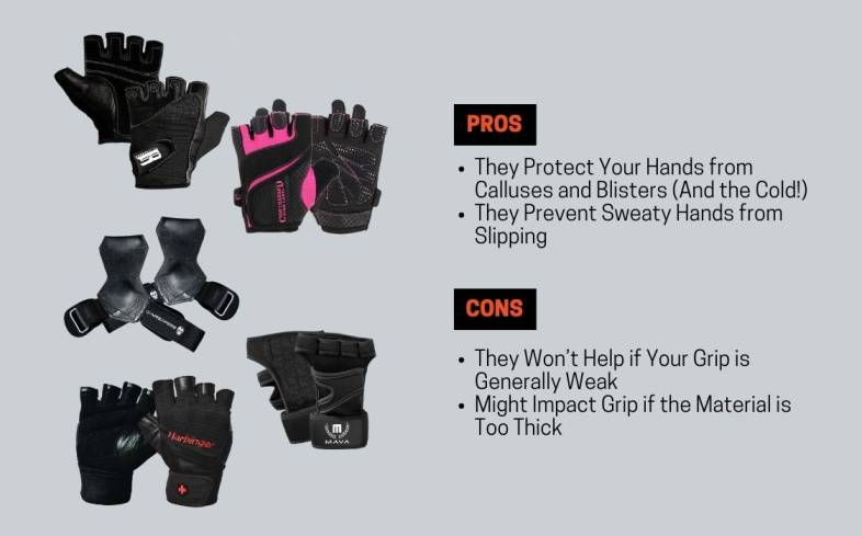 benefits and cons of wearing gloves for pull-ups