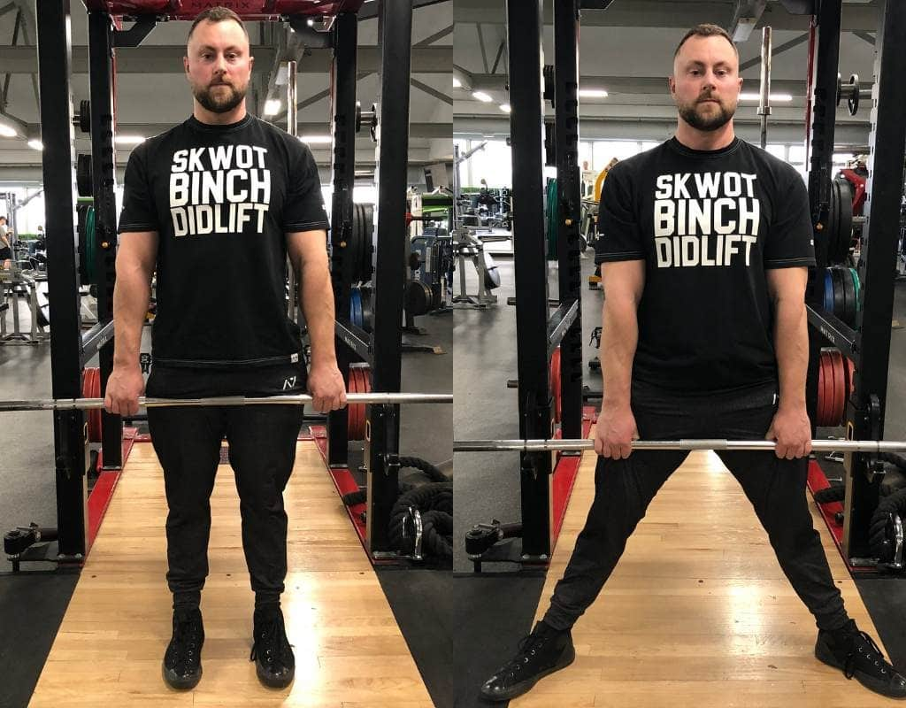 whether you choose to deadlift sumo style or conventional style will influence the hip positioning during deadlifts