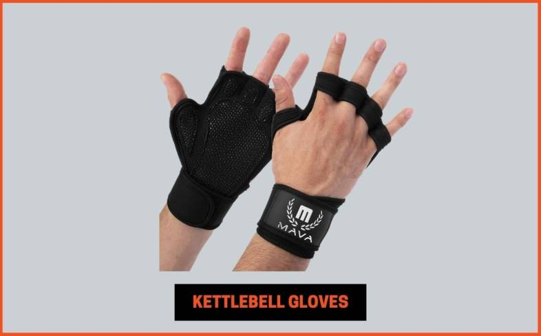 gloves used for kettlebells are the same gloves that we see for all other weight training activities