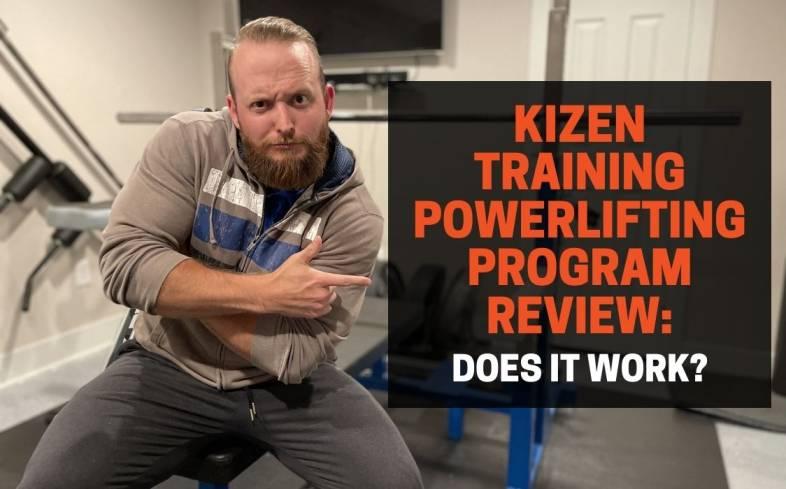 the kizen training 12-week powerlifting program