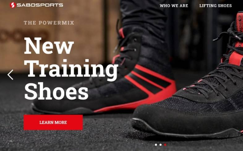 sabo has been producing shoes for powerlifters and strength athletes for nearly 20 year