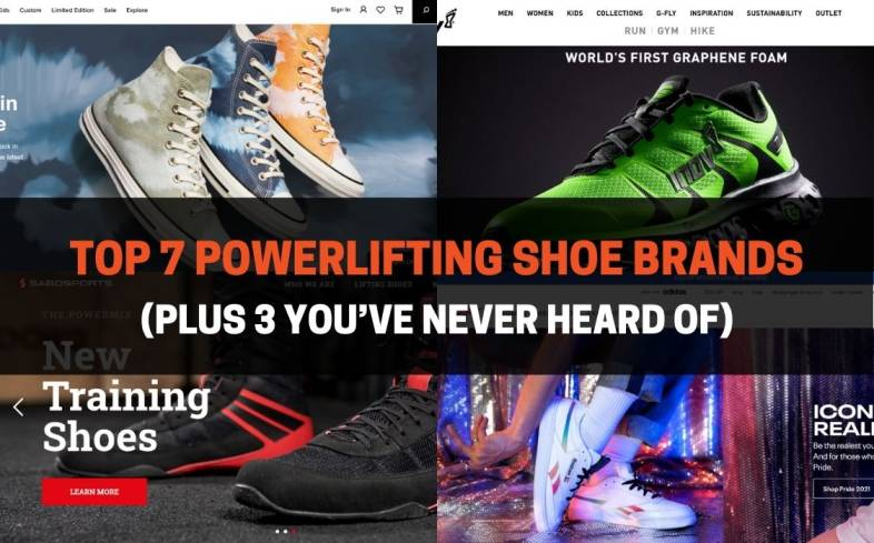 the top 7 powerlifting shoe brands