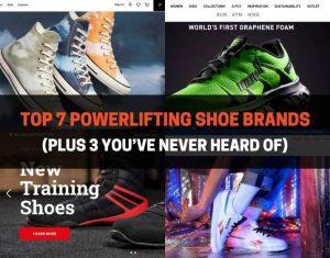 Top 7 Powerlifting Shoe Brands