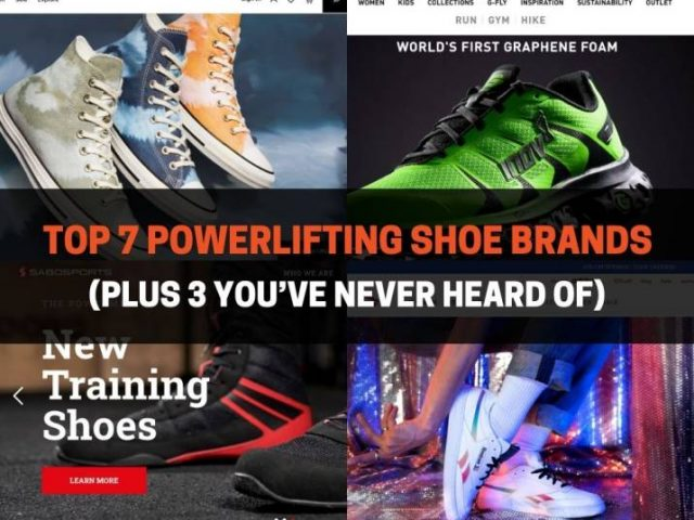 Top 7 Powerlifting Shoe Brands (Plus 3 You've Never Heard Of)