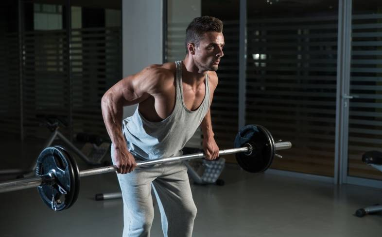how to do the barbell row