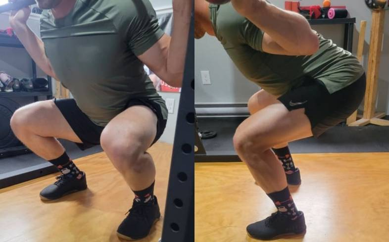 how to feel your quads when squatting
