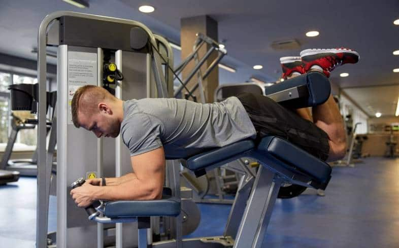 the leg curl is an isolation exercise where the main focus is targeting the muscles of the hamstrings