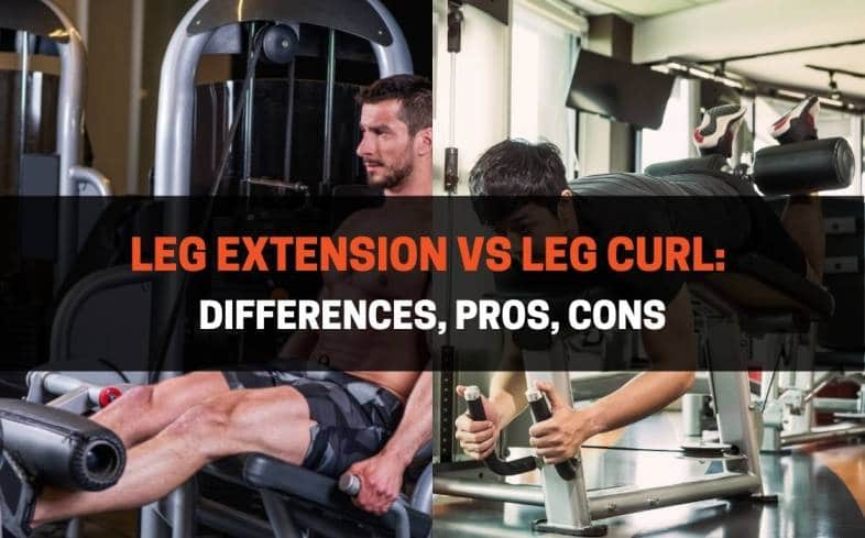 leg extensions can improve your squat, while leg curls can be used to improve your deadlifts