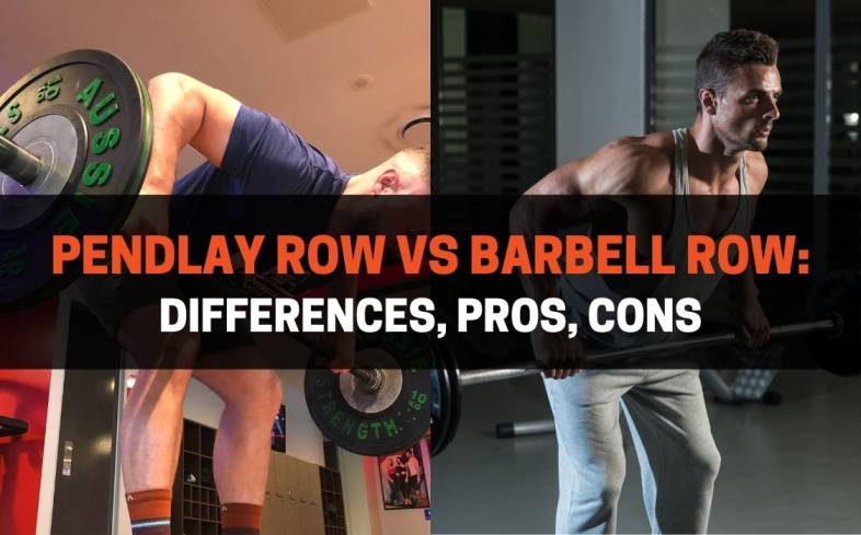 the difference between the pendlay row and barbell row
