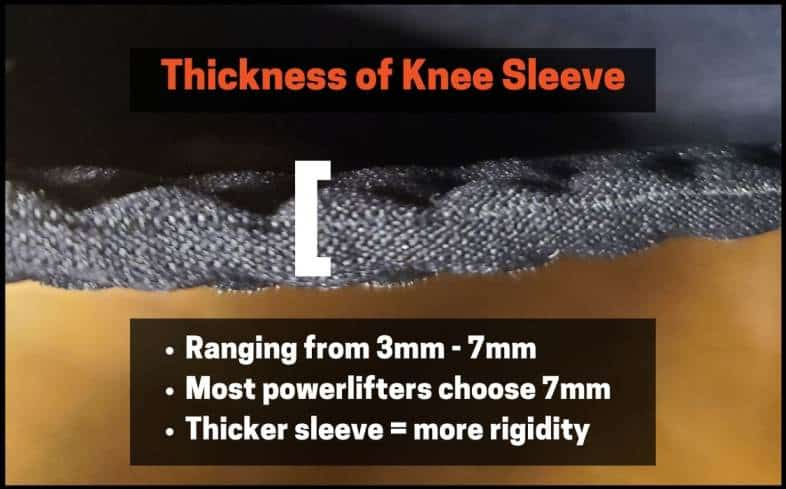who should wear 7mm knee sleeves