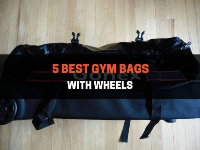 5 Best Gym Bags With Wheels (2021)