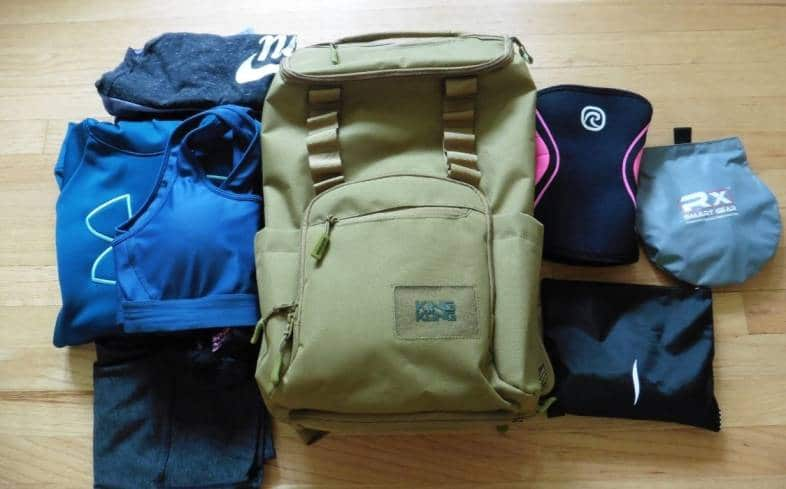 the CORE25 backpack is a versatile bag that can be used outside of the gym thanks to its laptop sleeve and multiple pockets for organization