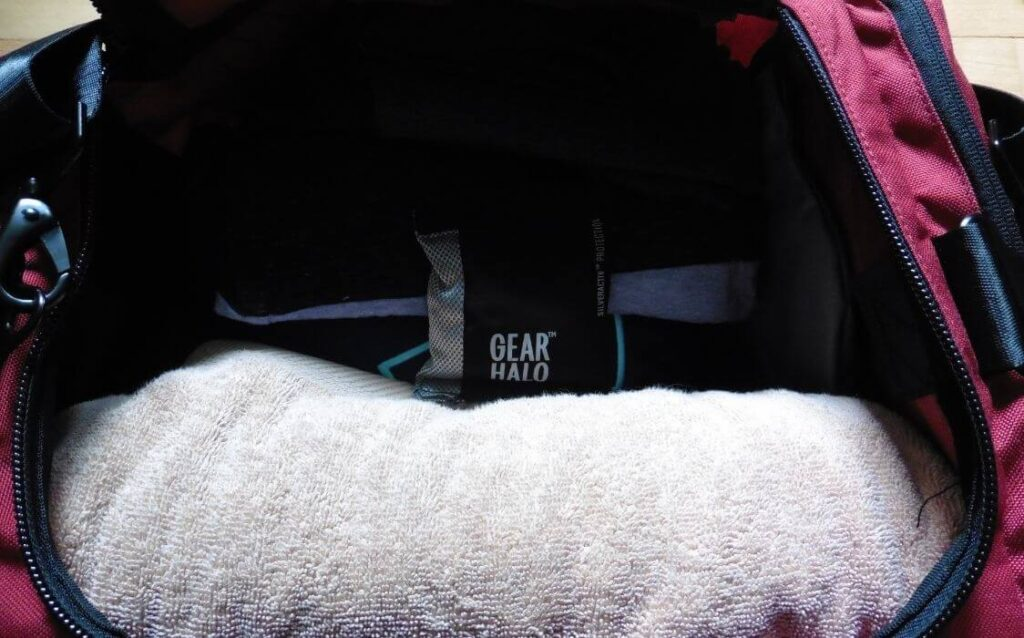 gearhalo sports deodorizer pods are effective gym bag deodorizers that can be used over and over again