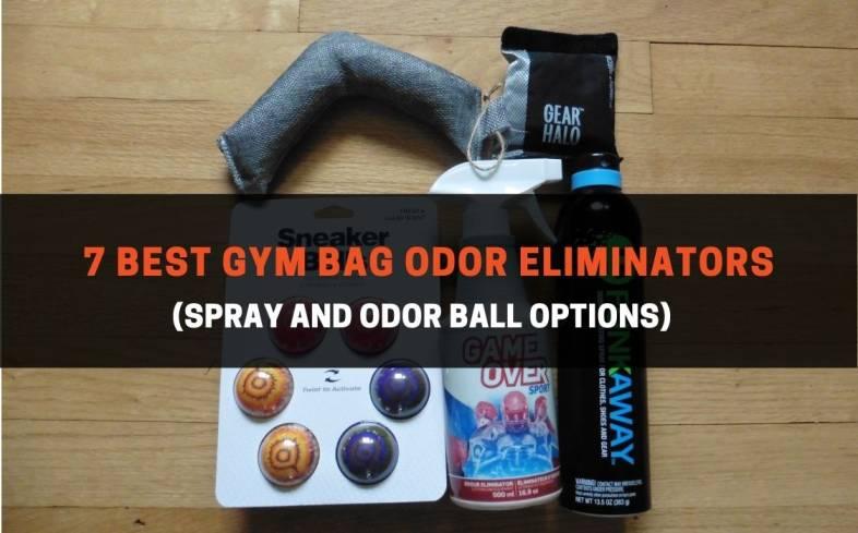 7 best gym bag odor eliminators spray and odor ball options
