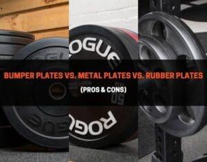 Bumper Plates vs. Metal Plates vs. Rubber Plates