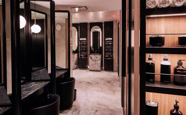 Equinox Showers and Locker Rooms