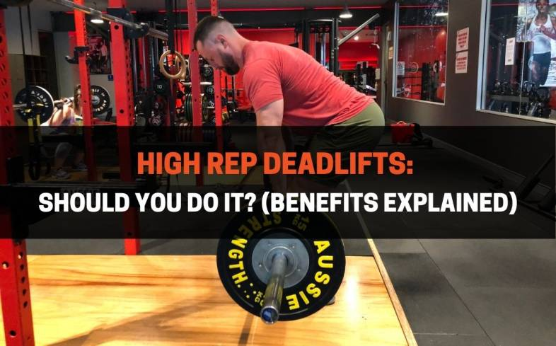 high rep deadlifts are deadlifts performed at 8 reps or more