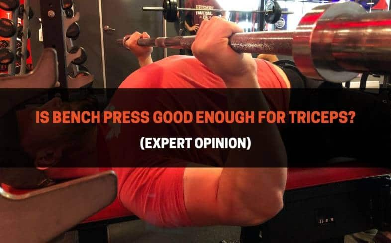 using the bench press to train triceps