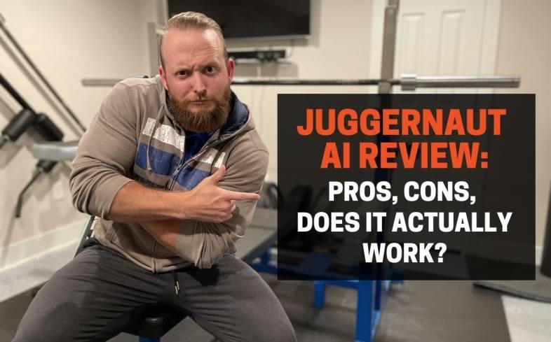 Juggernaut AI is an app, not a coach