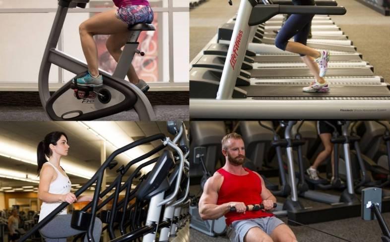 LA Fitness gym Equipment