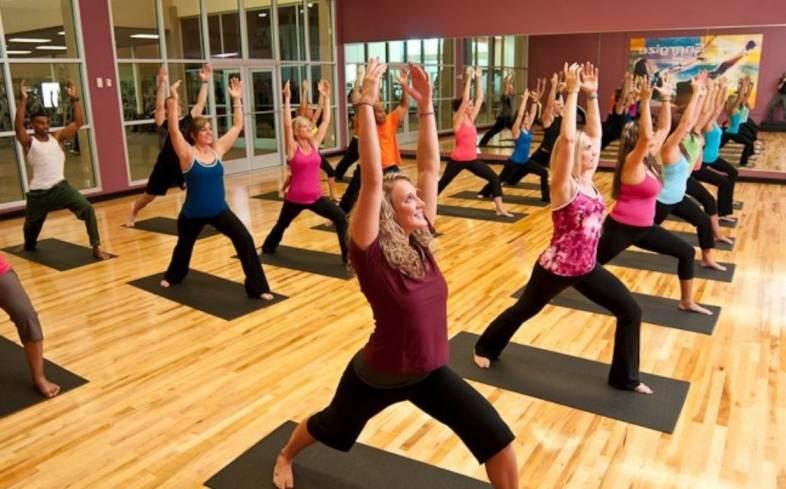 LA Fitness Yoga Studio