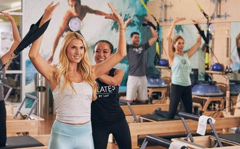 LA Fitness group classes