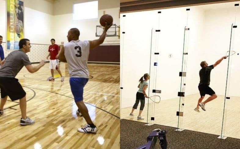 LA Fitness Basketball Court
